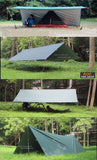 3*3m 210T with silver coating -Sun Shelter | TravDevil - 10