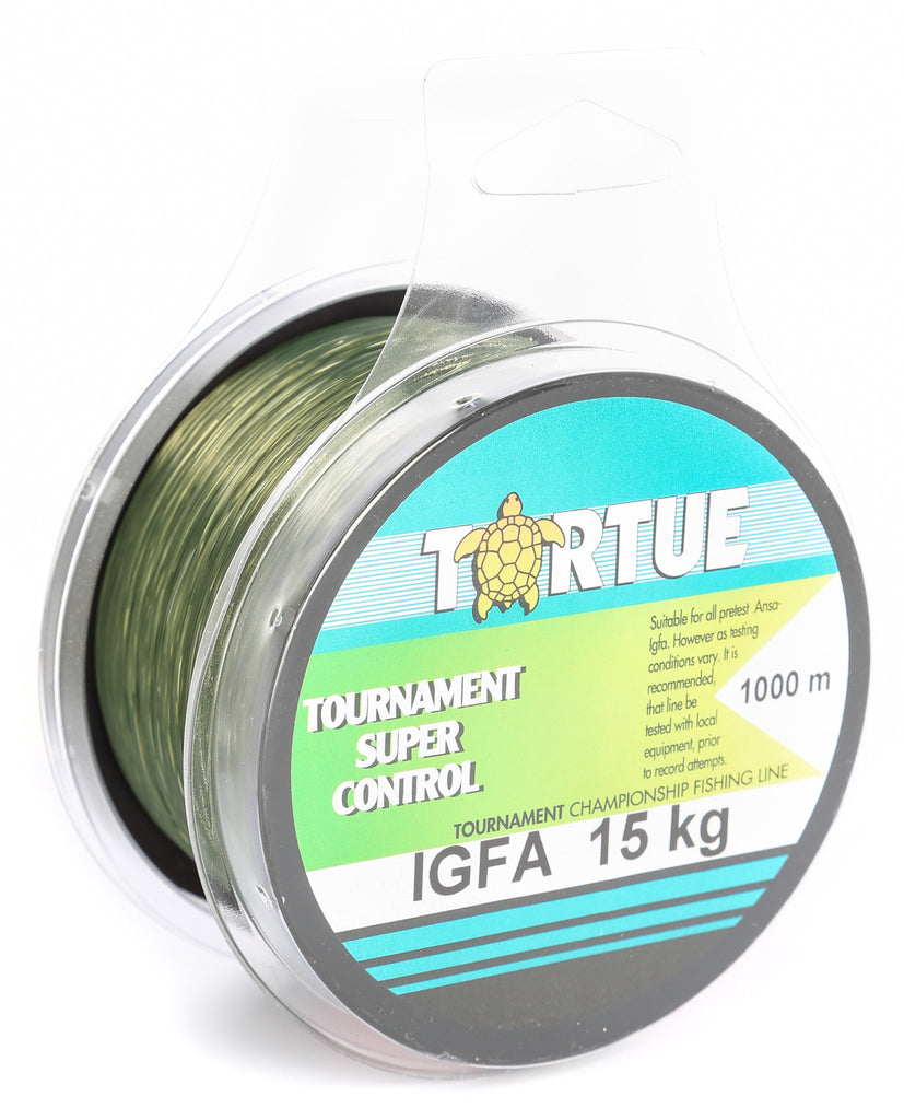 AG050 - Tortue Super Control IGFA 1000m 15kg Fishing Line