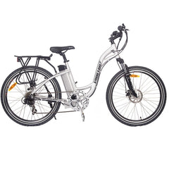 X-Treme Trail Climber Elite 24V Step-Through Hardtail Electric Mountain Bike Electric Bikes - Electric Bike City