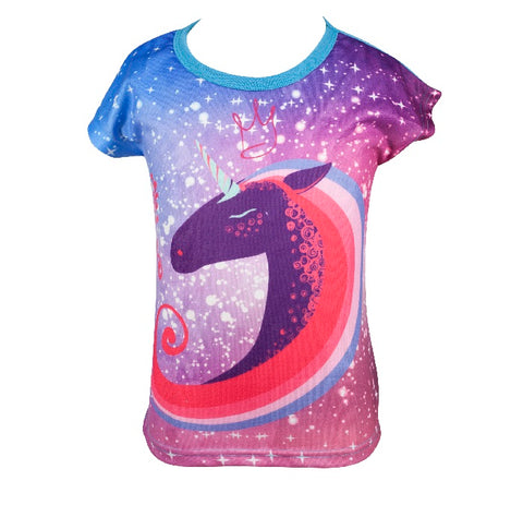 Unicorn Galaxy - Girls T-shirt - deezo the happy fashion