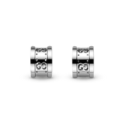 Icon Twirl 18kt White gold earrings