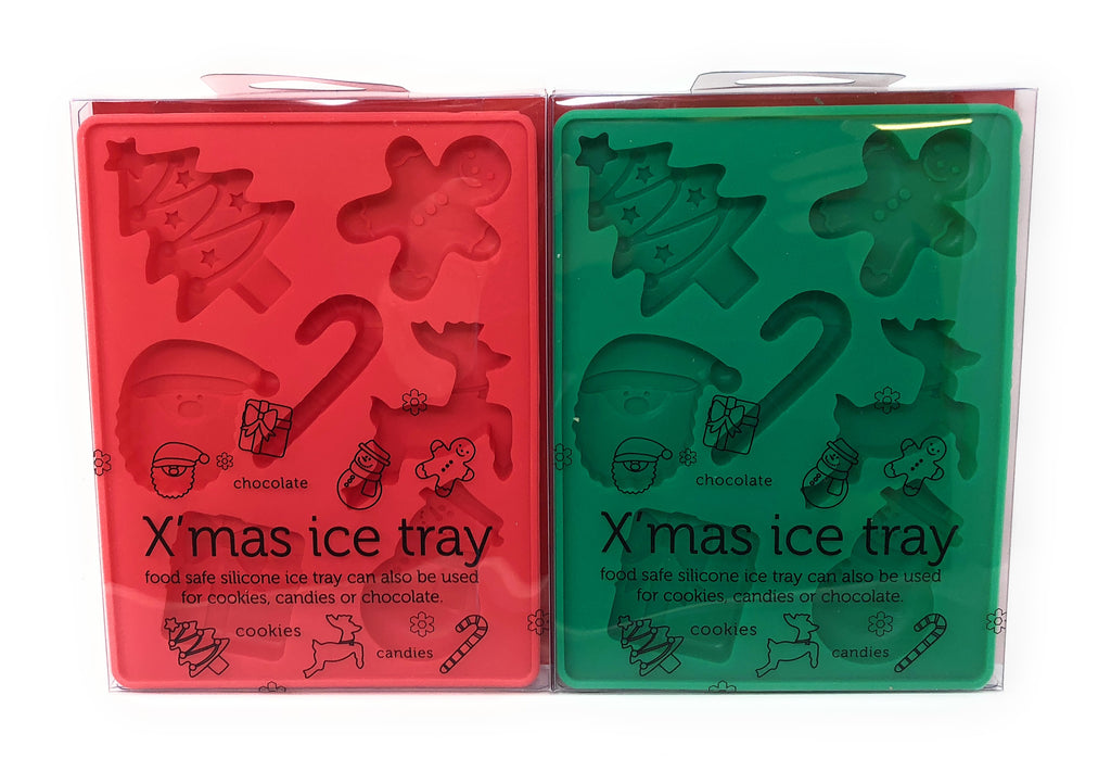 Christmas Ice Tray and Chocolate Mould Twin Pack