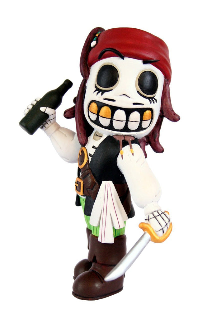 Calaveritas Pirate Mexican Day Of The Dead Rare Collectable Figurine