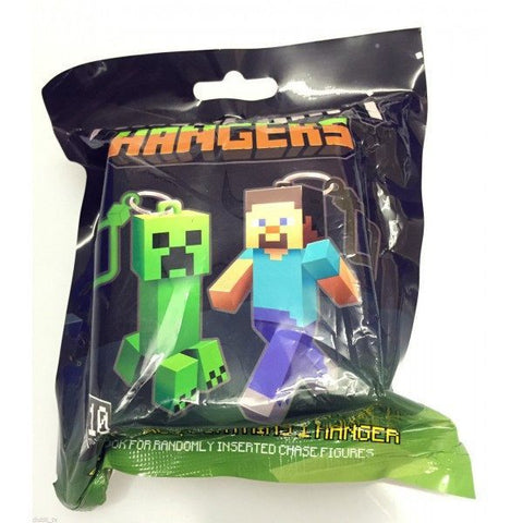 Minecraft Hanger Series 1 Collectable Toy Keychain Figures - Clubit.co.uk