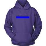 #bluelivesmatter Police Sweatshirt/Hoodie (Black Text)