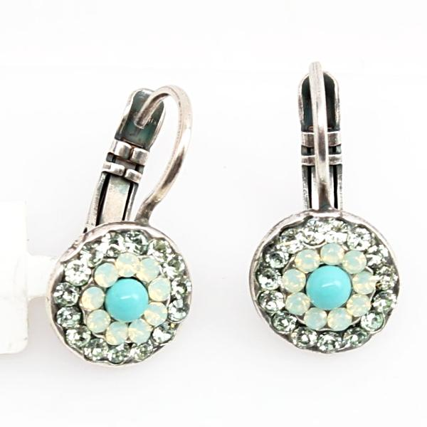 Athena Collection Multi Crystal Earrings