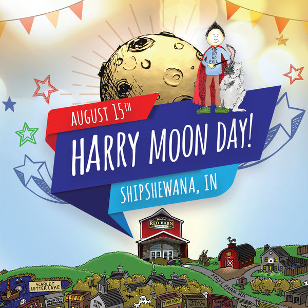 Harry Moon Day is August 15th in Shipshewana, Indiana