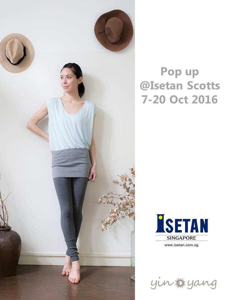 Pop up @ Isetan Scotts Level 2, 7 Oct-20 Oct 2016