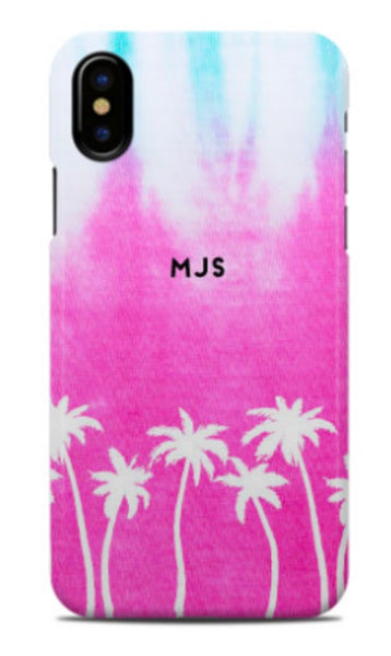 Palm Tie Dye Phone Case
