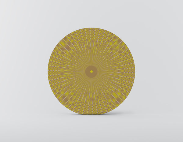 Squama Yellow Charger Plate - Set of 4