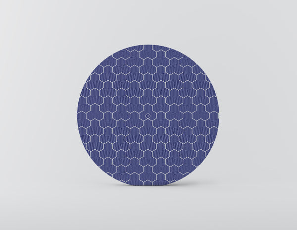 Ridley Turtle Blue Charger Plate - Set of 4