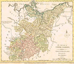 1794 Map of Upper Saxony Map