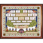 Family Tree Cross Stitch KIT