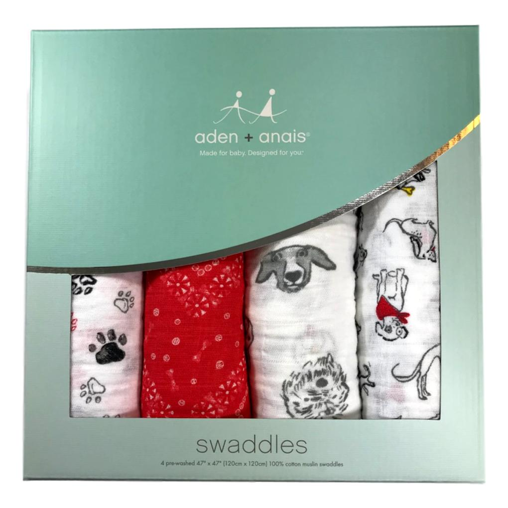 Aden + Anais Year Of The Dog 4-Pack Classic Swaddle - Frolicstyle