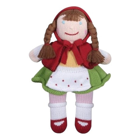Zubels Little Red Riding Hood Doll