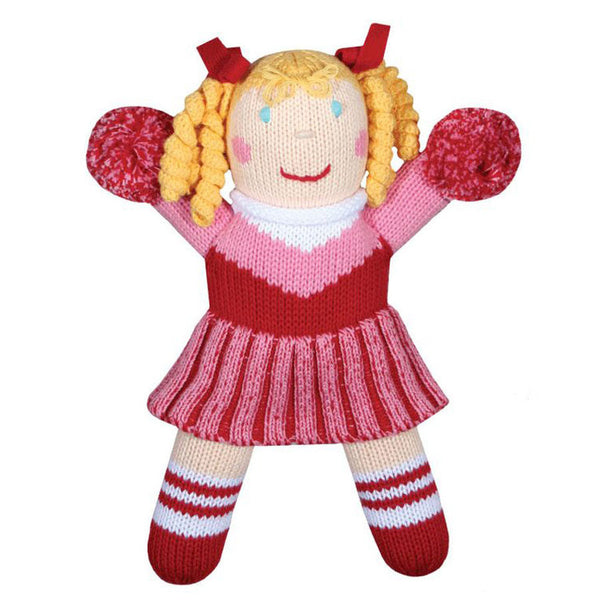 Zubels Cheerleader Doll Made of Organic Cotton - Frolicstyle