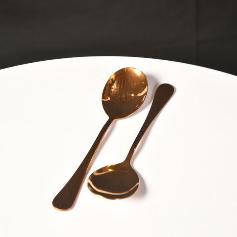 Serving Spoon- Gold