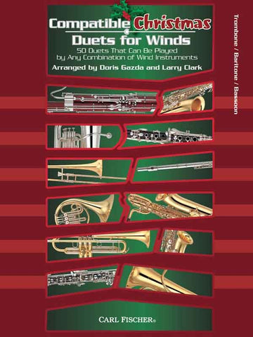 Gazda and Clark, arrs. - Compatible Christmas Duets for Winds - Alto/Baritone Saxophone Part
