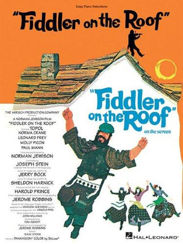 Bock and Harnick - Fiddler on the Roof - Easy Piano