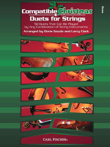Gazda and Clark, arrs. - Compatible Christmas Duets for Strings - Contrabass Part