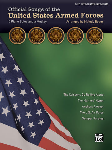 Bober, arr. - Official Songs of the United States Armed Forces - Intermediate Piano Solo