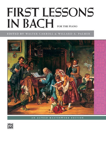 Bach – First Lessons in Bach – Piano
