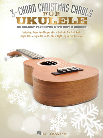 Various - 3-Chord Christmas Carols - Ukulele