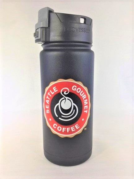 16oz Travel mug - color logo