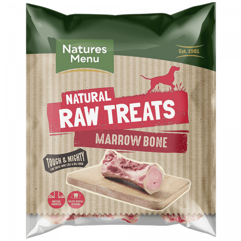 NM Raw Beef Marrow Bone Natures Menu   bmb