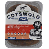 CW Minced Beef Sausages 80/20 Active range 1kg  Cotswold Raw sku SAU2011