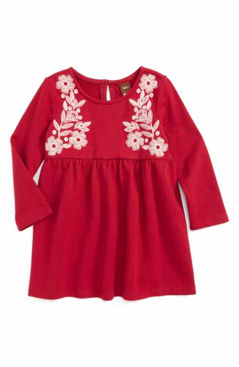 Ailsa Embroidered Dress - Precious + Posh