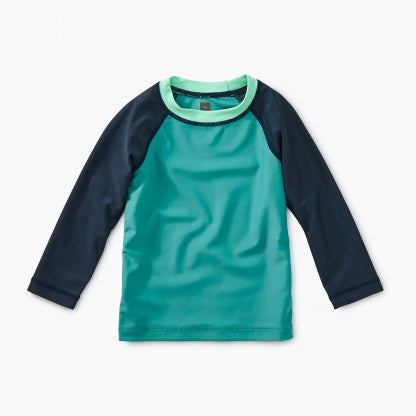 Tea Colorblock Long Sleeve Baby Rash Guard