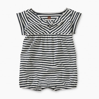 Tea Collection Striped Tie Romper