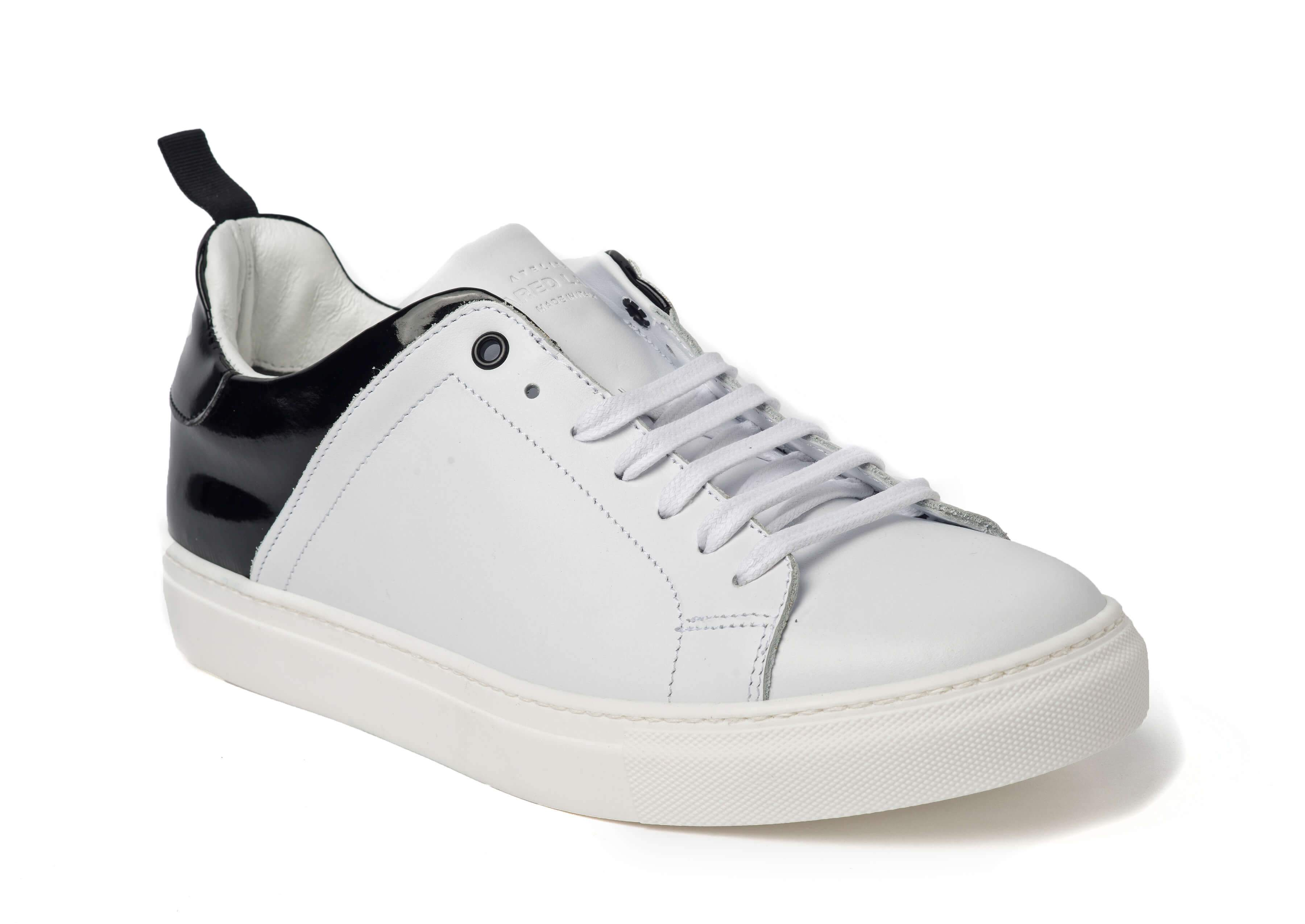 White Black Sneakers for Men - Main 3838-WHB - Jared Lang