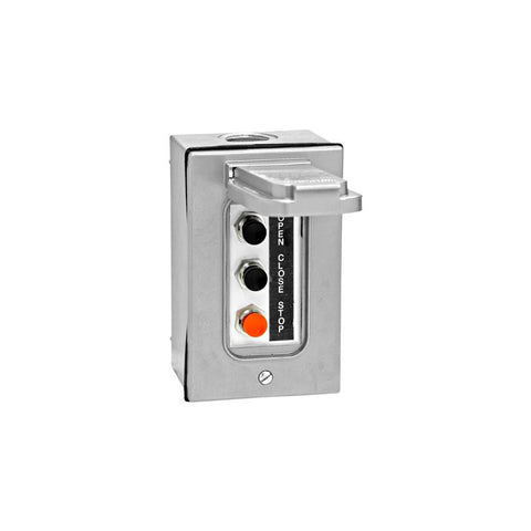 3BXC Open-Close-Stop Control Station w/ Protective Cover