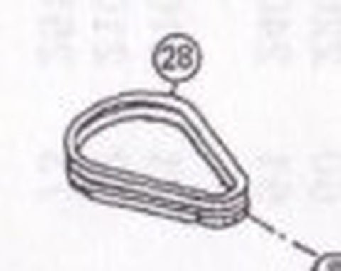 "2200-208 V-Belt, 26"" (2 Required) [#28]"