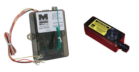 Miller Edge Audible Alarm Transmitter and Receiver Combo MWRTA12