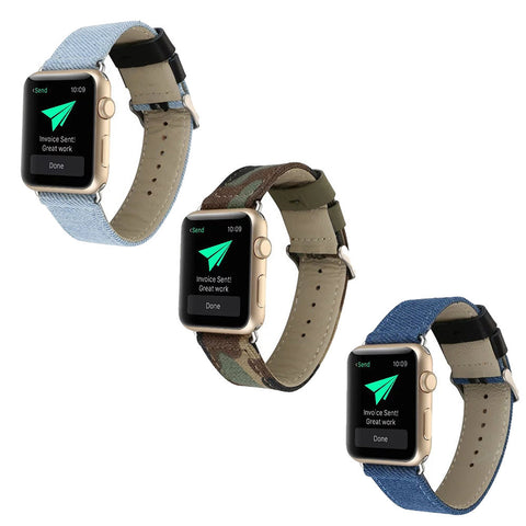 LizaTech Canvas Replacement Band for Apple Watch
