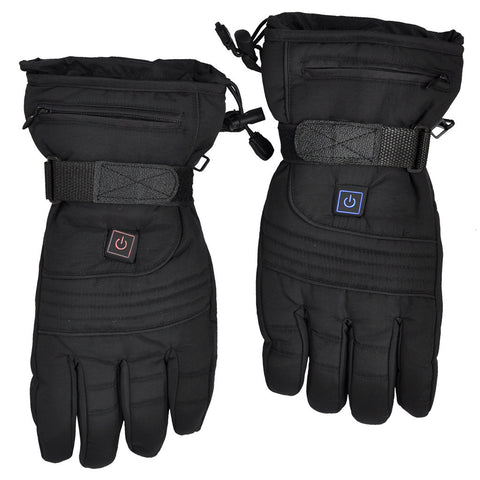 LizaTech Black Winter Warm Outdoor Heated Gloves with 3 Levels