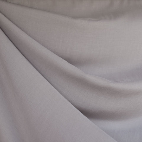 Rayon Batiste Solid Dove Grey
