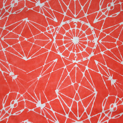 Handcrafted Cotton Astronomy Salmon SY - Sold Out - Style Maker Fabrics
