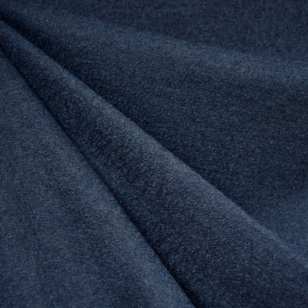 Boiled Wool Blend Coating Navy - Fabric - Style Maker Fabrics