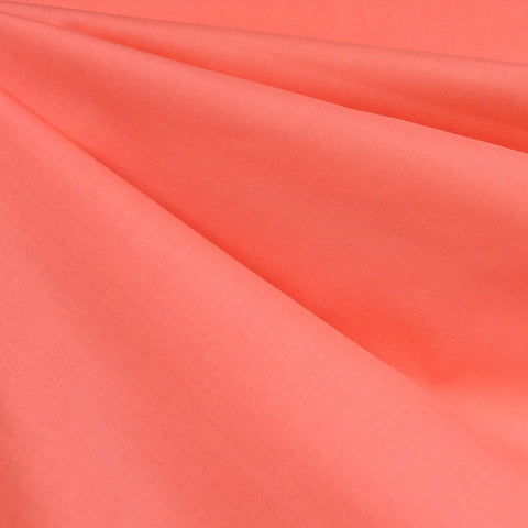Cotton Voile Solid Coral