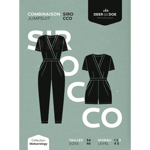 Deer and Doe Patterns Sirocco Jumpsuit