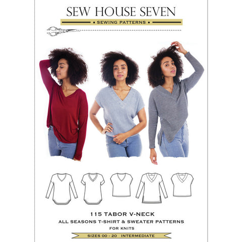 Sew House Seven Patterns Tabor V-Neck