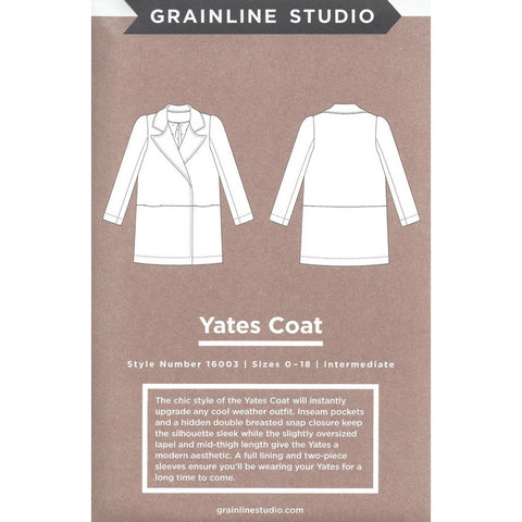 Grainline Studio Yates Coat