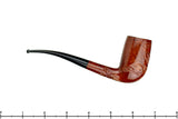 Blue Room Briars is proud to present this Yorkshire Standard 1/4 Bent Partial Carved Stack Oval Shank Billiard Estate Pipe