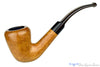 Blue Room Briars is proud to present this Italian 1/2 Bent Natural Bell Estate Pipe