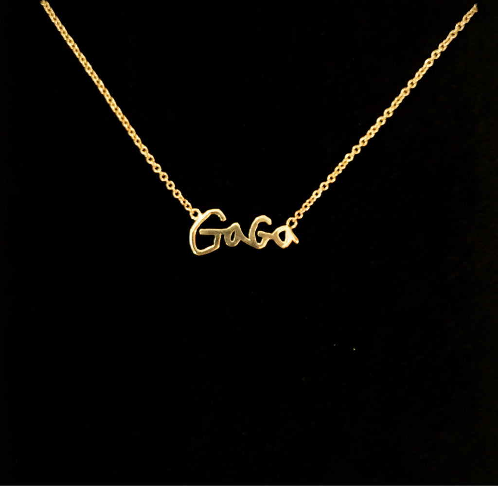 "Sincerely x Mama and Tata ""GAGA"" Necklace"