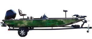 """Chameleon Forest"" Camo Boat Wrap Kit"